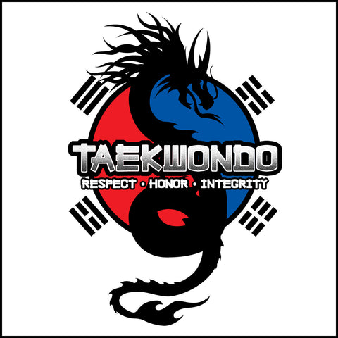 Spirit Dragon - Taekwondo T-Shirt - Balance • FREE SHIPPING! YSST424 - Rhino Junction Apparel - 1