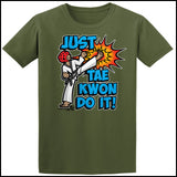 Cool Kick! - TAEKWONDO T-SHIRT - FREE SHIPPING! - AST432 - Rhino Junction Apparel - 3