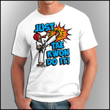Cool Kick! - TAEKWONDO T-SHIRT - FREE SHIPPING! - AST432 - Rhino Junction Apparel - 2
