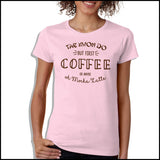 TAEKWONDO T-SHIRT • COFFEE, TKD AND MOCHA LATTE T-SHIRT - MSST463 - Rhino Junction Apparel - 2