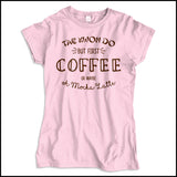 TAEKWONDO T-SHIRT • COFFEE, TKD AND MOCHA LATTE T-SHIRT -JSST463 - Rhino Junction Apparel - 3