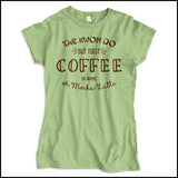 TAEKWONDO T-SHIRT • COFFEE, TKD AND MOCHA LATTE T-SHIRT -JSST463 - Rhino Junction Apparel - 2