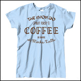 TAEKWONDO T-SHIRT • COFFEE, TKD AND MOCHA LATTE T-SHIRT - MSST463 - Rhino Junction Apparel - 3