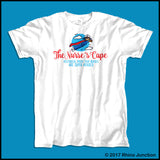 ADULT NURSE T-SHIRT• Nurse Cape Proves Nurses are Super Heroes! Cute! -ASST-4401 - Rhino Junction Apparel - 4