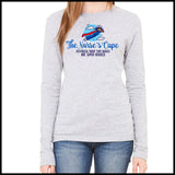 NURSES-LADIES LONG SLEEVE  •Nurse Cape Proves Nurses are Super Heroes!- LLST-4401 - Rhino Junction Apparel - 3