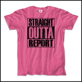 ADULT NURSE T-SHIRT • STRAIGHT OUTTA REPORT- COMPTON PARODY•COOL TEE! ASST-4410 - Rhino Junction Apparel - 3
