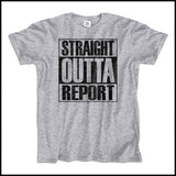 ADULT NURSE T-SHIRT • STRAIGHT OUTTA REPORT- COMPTON PARODY•COOL TEE! ASST-4410 - Rhino Junction Apparel - 2