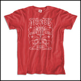 ADULT NURSE T-SHIRT • Nurse by Day-Country Girl by Night! •Nurse Tee-ASST-4415 - Rhino Junction Apparel - 3