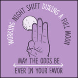 JUNIORS NURSE T-SHIRT • Nurses: May the Odds be Ever in your Favor!-JSST-4417 - Rhino Junction Apparel - 1