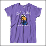 "MISSY NURSE T-SHIRT • ""Keep Talking! I'm Assessing You!"" LOL! Funny-MSST-4420 - Rhino Junction Apparel - 2"
