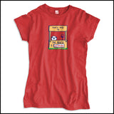 JUNIORS NURSE T-SHIRT • Cute Graphic!!! OFF DUTY NURSE - Out Drinking!- JSST-4430 - Rhino Junction Apparel - 2