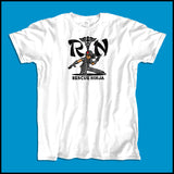 ADULT NURSE T-SHIRT • RN stands for RESCUE NINJA! Cool Graphic Tee! ASST-4434 - Rhino Junction Apparel - 4
