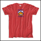 ADULT NURSE T-SHIRT • SHIFT'S OVER = HAPPY NURSE Smiley Face Tee!  -ASST-4438 - Rhino Junction Apparel - 2