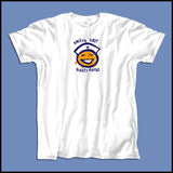 ADULT NURSE T-SHIRT • SHIFT'S OVER = HAPPY NURSE Smiley Face Tee!  -ASST-4438 - Rhino Junction Apparel - 3