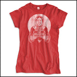JUNIORS NURSE T-SHIRT •Florence is my HOMEGIRL Funny Nurse Tee! -JSST-4404 - Rhino Junction Apparel - 4