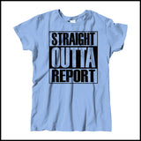 MISSY NURSE T-SHIRT • STRAIGHT OUTTA REPORT- COMPTON PARODY•COOL TEE! MSST-4410 - Rhino Junction Apparel - 3