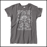 MISSY NURSE T-SHIRT • Nurse by Day-Country Girl by Night! •Nurse Tee-MSST-4415 - Rhino Junction Apparel - 4