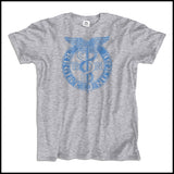 ADULT NURSE T-SHIRT • VINTAGE FADED RN CADUCEUS TEE • ASST-4418 - Rhino Junction Apparel - 2