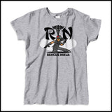 MISSY NURSE T-SHIRT • RN stands for RESCUE NINJA! Cool Graphic Tee! MSST-4434 - Rhino Junction Apparel - 3