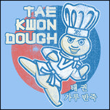 Dough Boy Parody Taekwondo Design- TAEKWONDO T-SHIRT - Tae Kwon DOUGH- JSST442 - Rhino Junction Apparel - 1