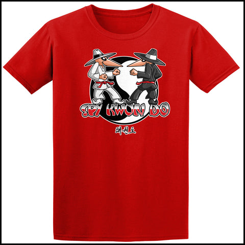 SPY KWON DO! -TAEKWONDO GRAPHIC TEE - SPY KWON DO PARODY- AST446 - Rhino Junction Apparel - 3