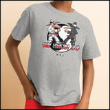 SPY KWON DO! -TAEKWONDO T-SHIRT - SPY KWON DO PARODY- YST446 - Rhino Junction Apparel - 3