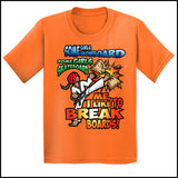 BOARD BREAKING-TSHIRTS-GREAT TAEKWONDO GIFT! - I BREAK BOARDS! - YGSS448 - Rhino Junction Apparel - 3