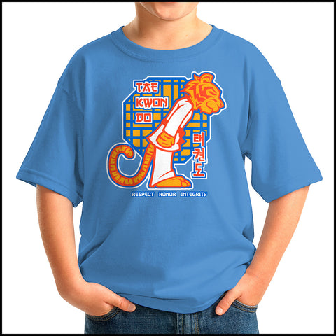 Hello Tiger - Taekwondo Great Gift! T-Shirt -Cutest Tee Ever!  -  YSST451 - Rhino Junction Apparel - 3