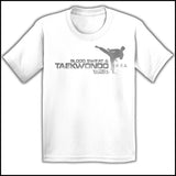Favorite Boys TAE KWON DO T-SHIRT  - Blood Sweat & TaeKwonDo Design! -YBST417 - Rhino Junction Apparel - 4