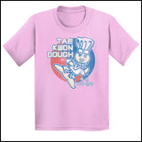 Dough Boy Parody Taekwondo Design- TAEKWONDO T-SHIRT - Tae Kwon DOUGH- YSST442 - Rhino Junction Apparel - 2