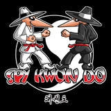 SPY KWON DO! -TAEKWONDO GRAPHIC TEE - SPY KWON DO PARODY- AST446 - Rhino Junction Apparel - 1