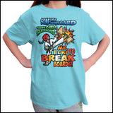 BOARD BREAKING-TSHIRTS-GREAT TAEKWONDO GIFT! - I BREAK BOARDS! - YGSS448 - Rhino Junction Apparel - 4