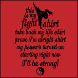 This is My FIGHT SHIRT T-SHIRT-Karate-Taekwondo-Jiu-Jitsu...-YGST462 - Rhino Junction Apparel - 2