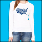 NURSES-LADIES LONG SLEEVE  • Nurses-The Most Trusted Profession LST    LLST-4424 - Rhino Junction Apparel - 5
