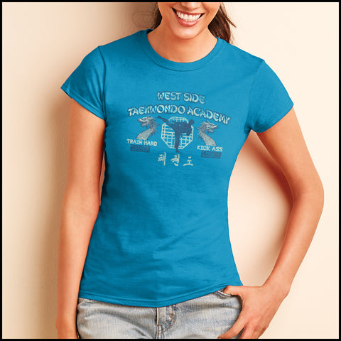 Retro Taekwondo T-Shirt- West Side Taekwondo -FREE SHIPPING JST-409 - Rhino Junction Apparel - 4
