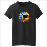 Fire VS Water - TAEKWONDO T-SHIRT - Um-Yang / Yin-Yang Design - MST427 - Rhino Junction Apparel - 2