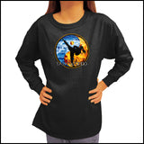 Fire VS Water - TAEKWONDO T-SHIRT - Um-Yang / Yin-Yang Design - YGLS-427 - Rhino Junction Apparel - 4