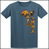 Taekwondo T-Shirt -Spinning Head Kick Design! - FREE SHIPPING AST-436 - Rhino Junction Apparel - 2