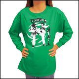 SPIN KICKS! Taekwondo LST T-Shirt  - Bold Graphic!- FREE SHIPPING-YLST-428 - Rhino Junction Apparel - 4