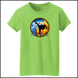 Fire VS Water - TAEKWONDO T-SHIRT - Um-Yang / Yin-Yang Design - MST427 - Rhino Junction Apparel - 3