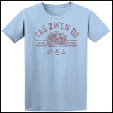 Vintage RETRO Taekwondo T-Shirt- Retro Dragon- AST-407 - Rhino Junction Apparel - 3