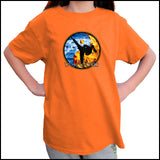 Fire VS Water - TAEKWONDO T-SHIRT - Um-Yang / Yin-Yang Design - YGSS-427 - Rhino Junction Apparel - 4