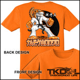TIGER FISTS! -Taekwondo T-Shirt -AWESOME GRAPHIC! -AST-405 - Rhino Junction Apparel - 3
