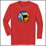 Fire VS Water - TAEKWONDO T-SHIRT - Um-Yang / Yin-Yang Design - YGLS-427 - Rhino Junction Apparel - 3