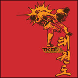 Taekwondo T-Shirt -Spinning Head Kick Design! -It Rocks! YLST-436 - Rhino Junction Apparel - 1