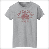 Vintage RETRO Taekwondo T-Shirt- Retro Dragon- MST-407 - Rhino Junction Apparel - 3