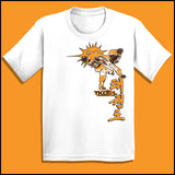 Taekwondo T-Shirt -Spinning Head Kick Design! - It Rocks!  YSST-436 - Rhino Junction Apparel - 4