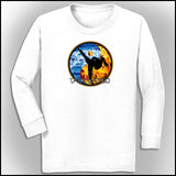 Fire VS Water - TAEKWONDO T-SHIRT - Um-Yang / Yin-Yang Design - YGLS-427 - Rhino Junction Apparel - 2