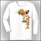 Taekwondo T-Shirt -Spinning Head Kick Design! -It Rocks! YLST-436 - Rhino Junction Apparel - 3