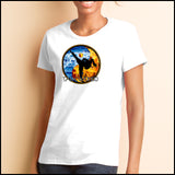 Fire VS Water - TAEKWONDO T-SHIRT - Um-Yang / Yin-Yang Design - MST427 - Rhino Junction Apparel - 4
